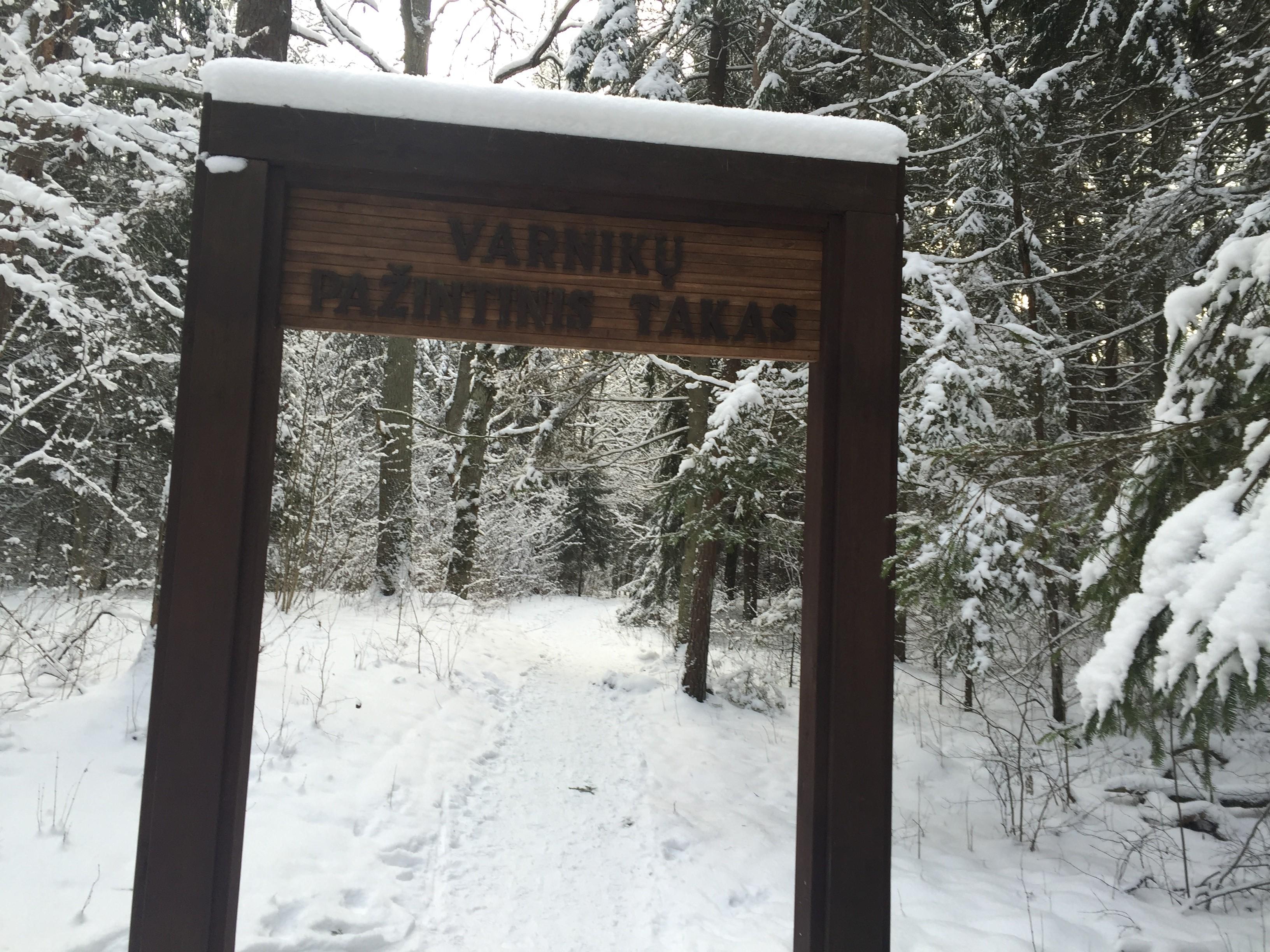 Varnikų zoologinis botaninis draustinis - tik 1 km